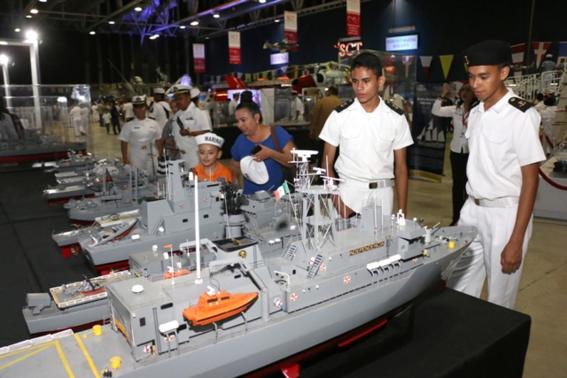 inauguracion de expomar de la marina 1