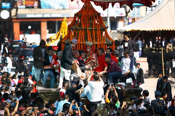 fotografias de ninas diosas en nepal 4
