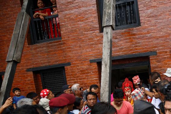 fotografias de ninas diosas en nepal 12