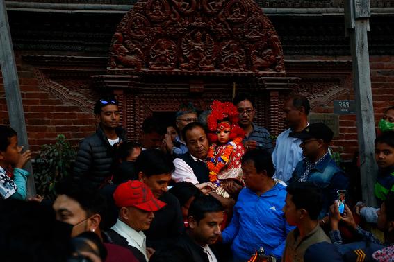 fotografias de ninas diosas en nepal 14