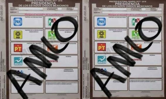 apodos seran validos en las elecciones de mexico 2