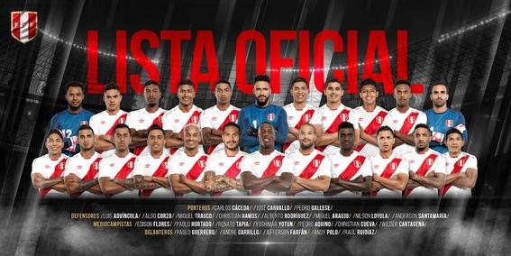 jugadores convocados de las 32 selecciones del mundial de rusia 12