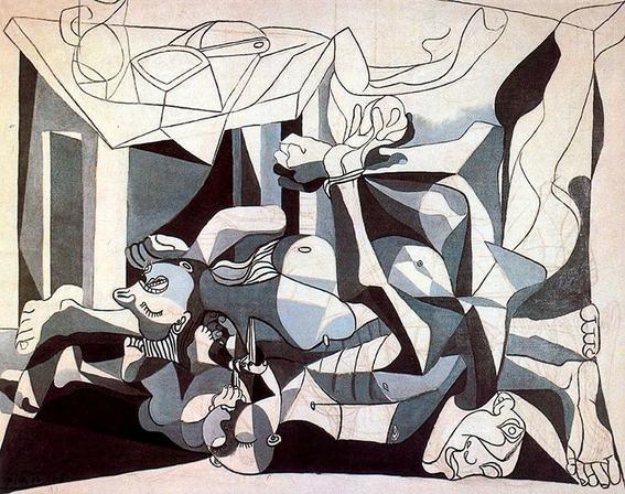 pinturas clasicas que picasso reinterpreto 3