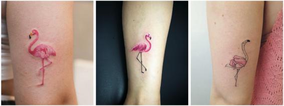 tatuajes color rosa 2