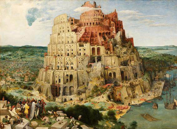 el mito de la torre de babel 1