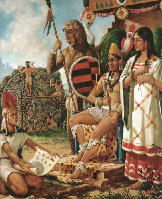 aztec queen history 1