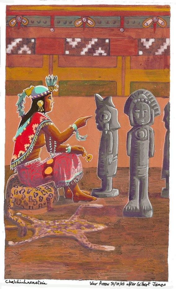 aztec queen history 2