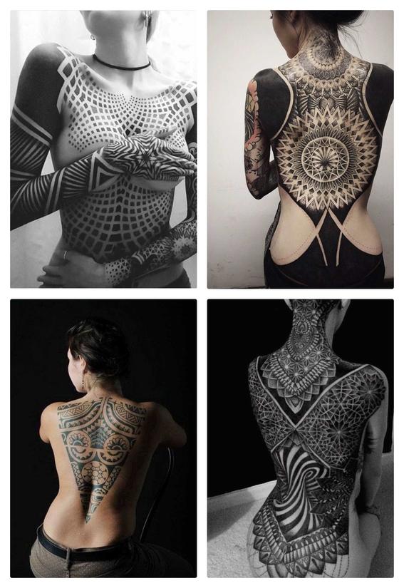 tatuajes en el torso para mujeres 1