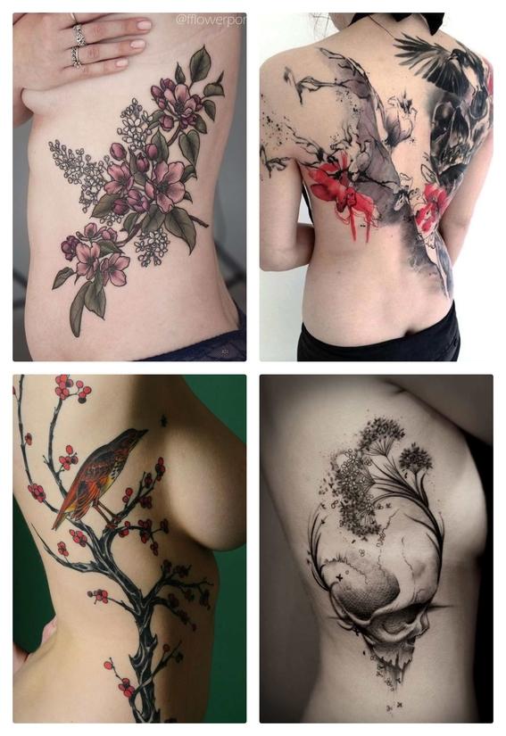 tatuajes en el torso para mujeres 2