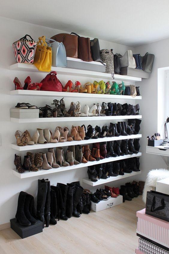 consejos para organizar tus zapatos botas y tenis 5