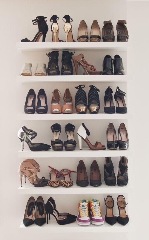 consejos para organizar tus zapatos botas y tenis 7