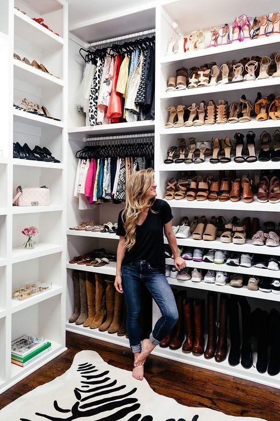 consejos para organizar tus zapatos botas y tenis 1