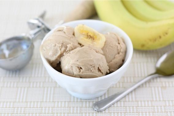 la receta mas sencilla y saludable para preparar helado con un solo ingrediente 2