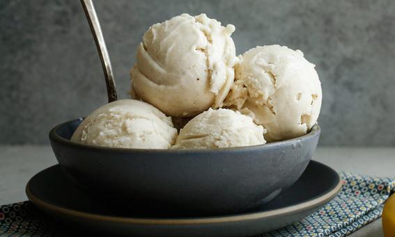 la receta mas sencilla y saludable para preparar helado con un solo ingrediente 3