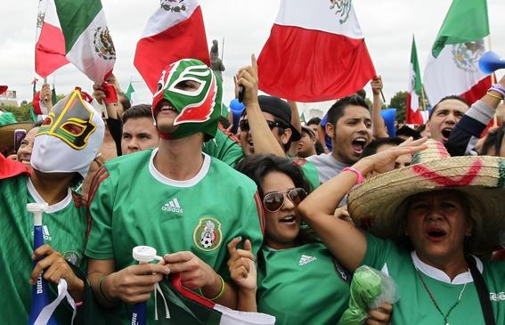 cuando juega mexico en el mundial 2018 2