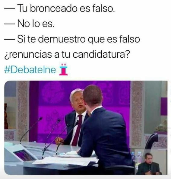 memes del tercer debate presidencial 19