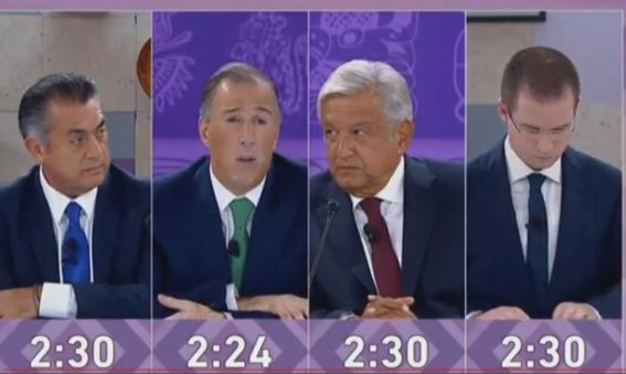 mentiras de los candidatos en el tercer debate 2018 3