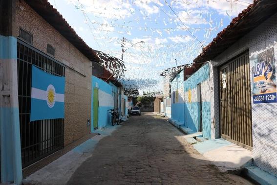 barrio de brasil apoya a seleccion argentina 1