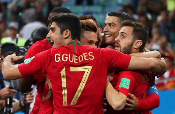 portugal empata con espana en el mejor partido del mundial 1