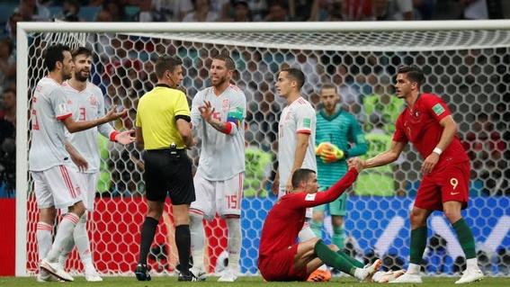 portugal empata con espana en el mejor partido del mundial 2