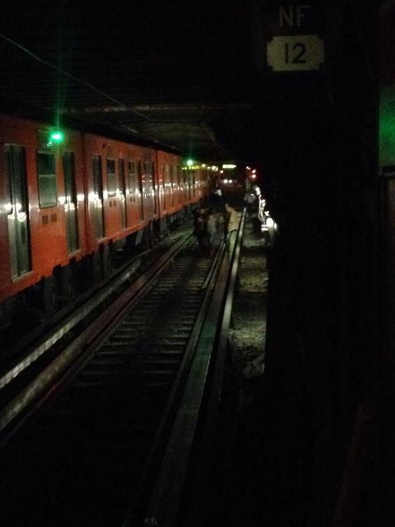 desapariciones en el metro 8