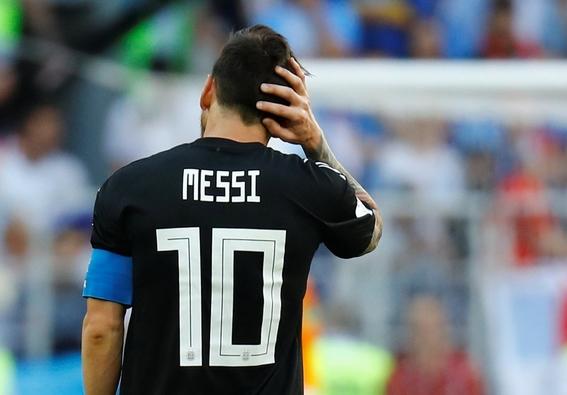 argentina empata a uno con islandia messi falla penal 1