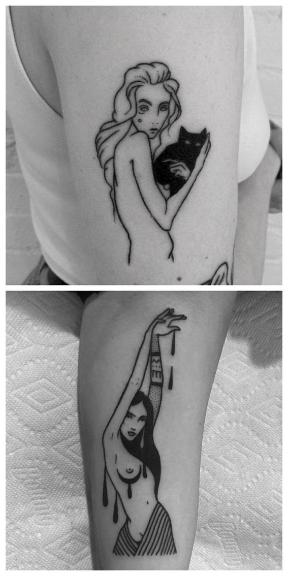 tatuajes para mujeres que aman su cuerpo 6