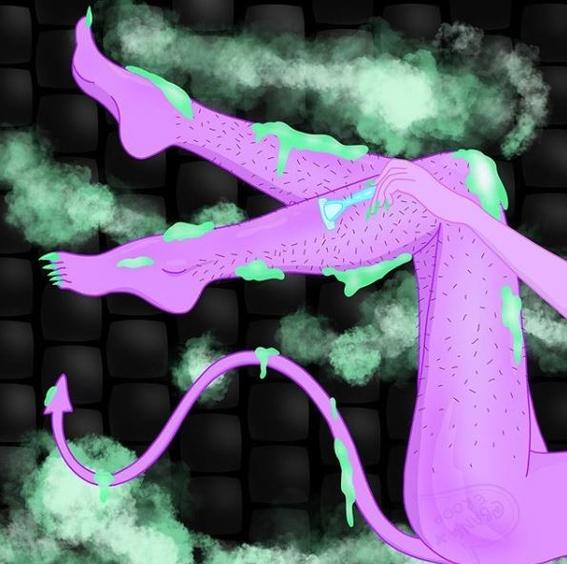 ilustraciones de alien slut 4