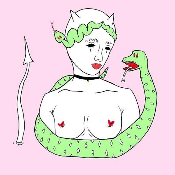 ilustraciones de alien slut 12