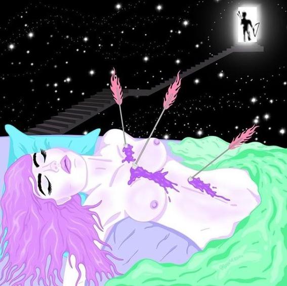 ilustraciones de alien slut 13
