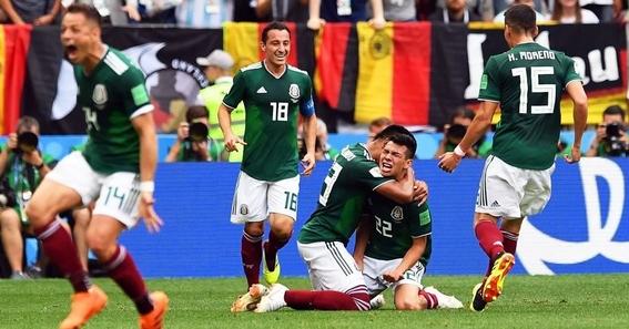 reacciones de los jugadores del mexico vs alemania 5