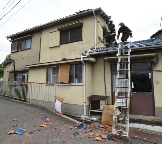 terremoto en osaka japon junio de 2018 4