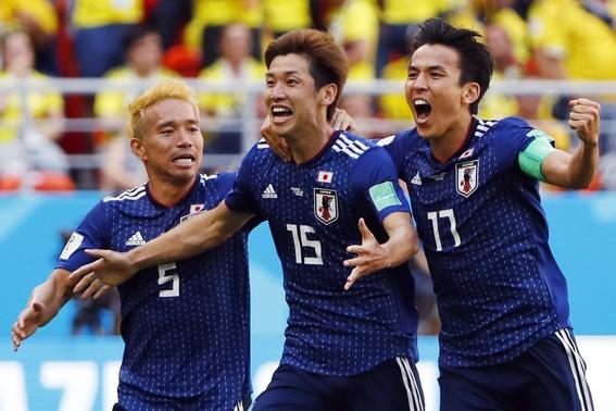 japon vence a colombia el el mundial 1