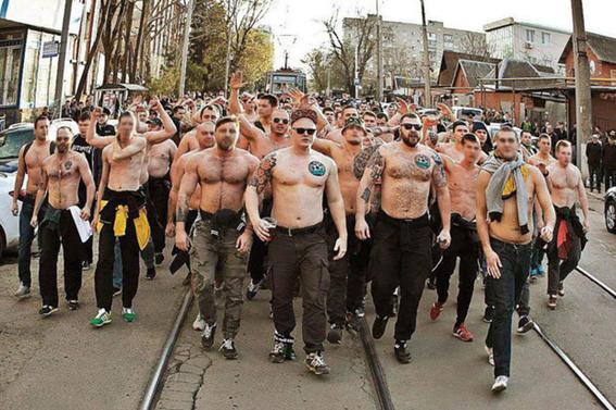 los ultras rusos que podrian violentar el mundial 8