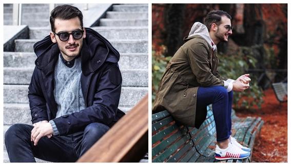 consejos de moda para hombres que quieren usar un impermeable y no saben como combinarlo 6