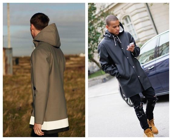 consejos de moda para hombres que quieren usar un impermeable y no saben como combinarlo 2
