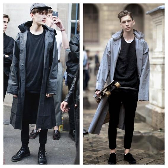 consejos de moda para hombres que quieren usar un impermeable y no saben como combinarlo 4
