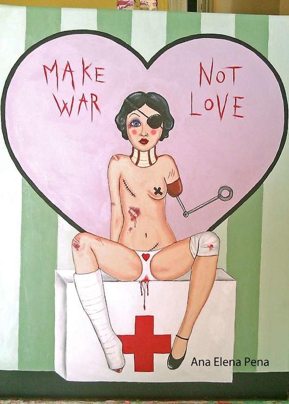 ilustraciones de ana elena pena sobre las cicatrices que deja el amor 11