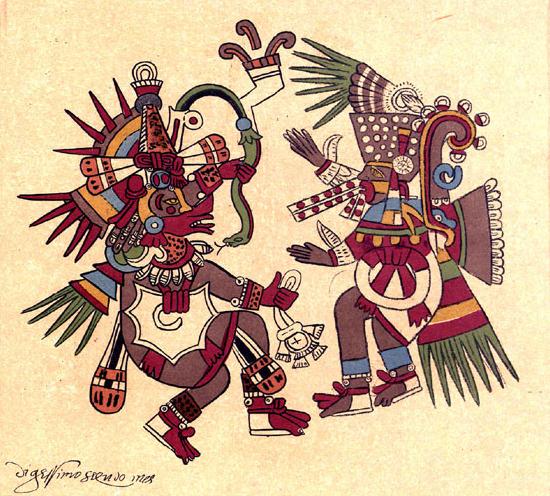 leyenda de quetzalcoatl 1