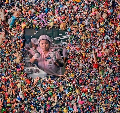 fotografias michael wolf que demuestran la esclavitud china en las fabricas de juguetes 17