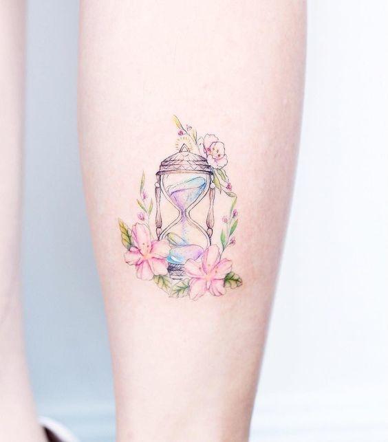 cosas que debes tomar en cuenta antes de hacerte un tatuaje en colores pastel 3