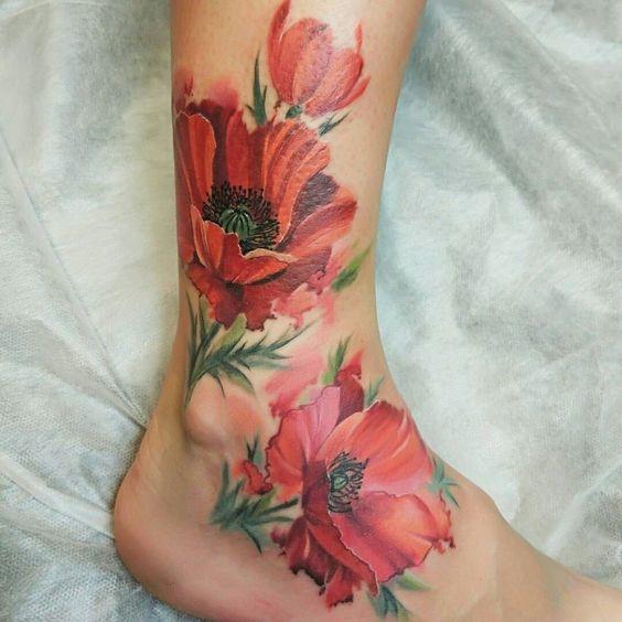 cosas que debes tomar en cuenta antes de hacerte un tatuaje en colores pastel 1