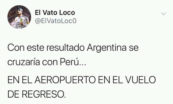 memes del partido de argentina contra croacia en el mundial 9