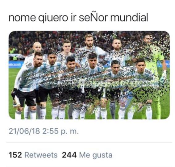 memes del partido de argentina contra croacia en el mundial 10