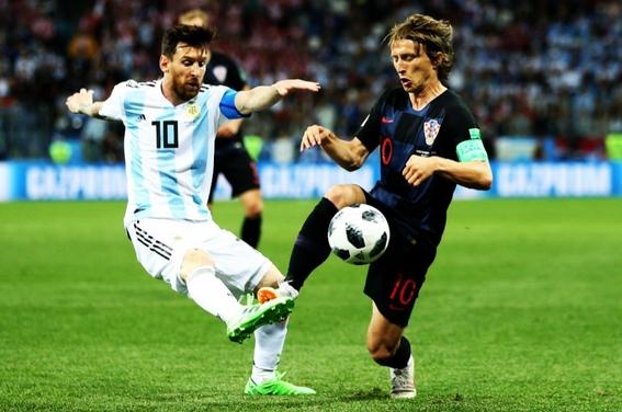 argentina pierde ante croacia en el mundial de rusia 1