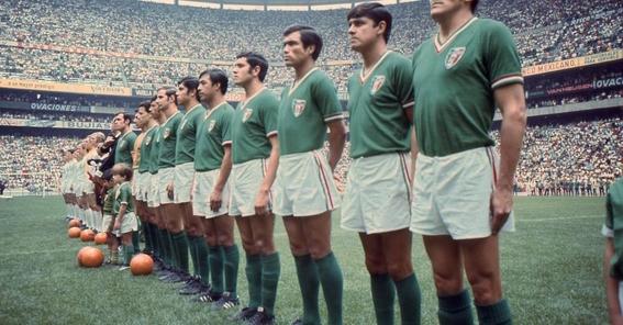 evolucion de los uniformes de mexico en los mundiales 5