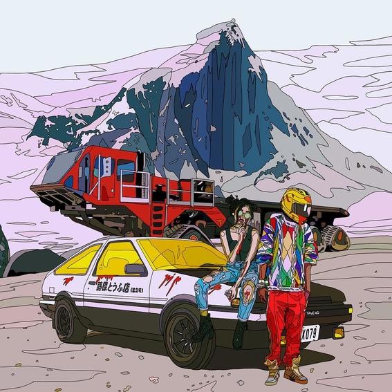 ilustraciones de mad dog jones artista del cyberpunk 7