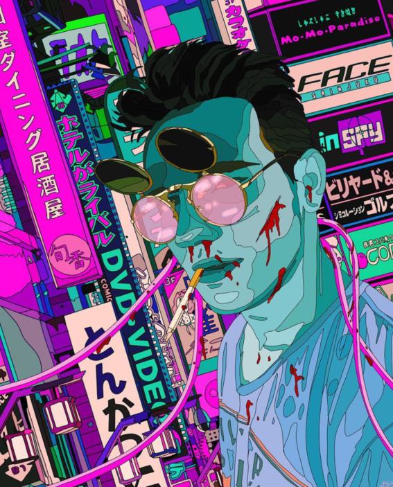 ilustraciones de mad dog jones artista del cyberpunk 10