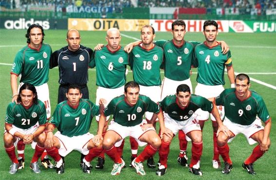 evolucion de los uniformes de mexico en los mundiales 10