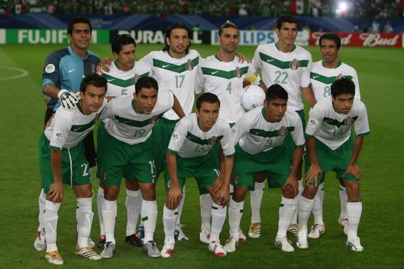 evolucion de los uniformes de mexico en los mundiales 11